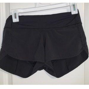 Lululemon Speed Shorts 2.5'' Size 2